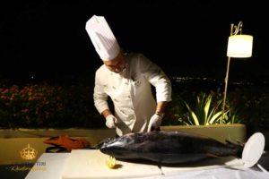 taglio pesce spada ristorante auteri