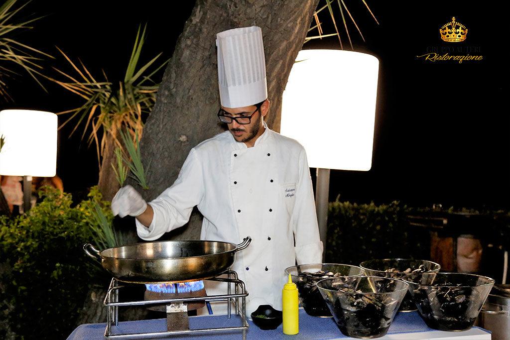 auteri caparena show cooking