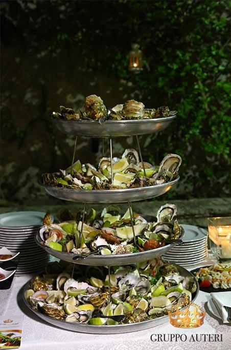 auteri piatti fontana ostriche
