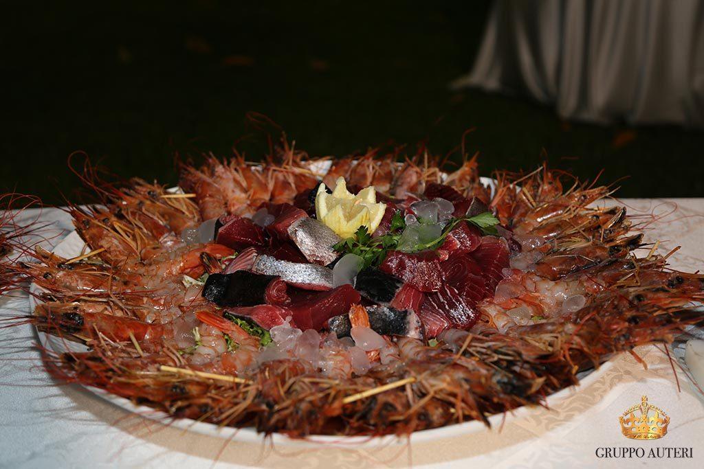 auteri piatti gamberi e pesce