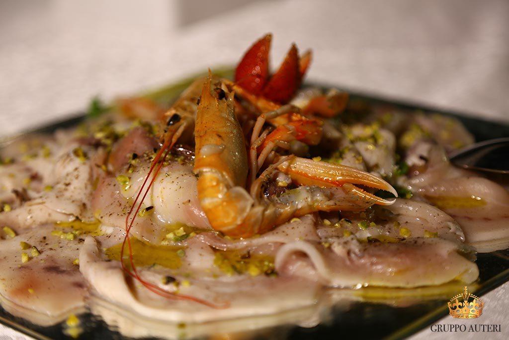 auteri piatti gamberi pesce