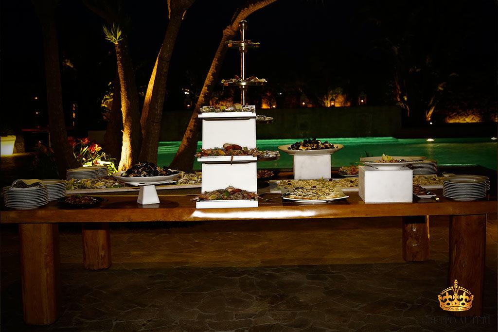 auteri piatti tavolo legno