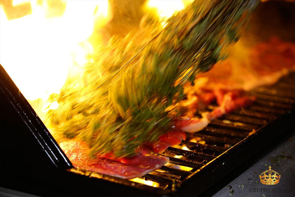 auteri show cooking arrosto carne