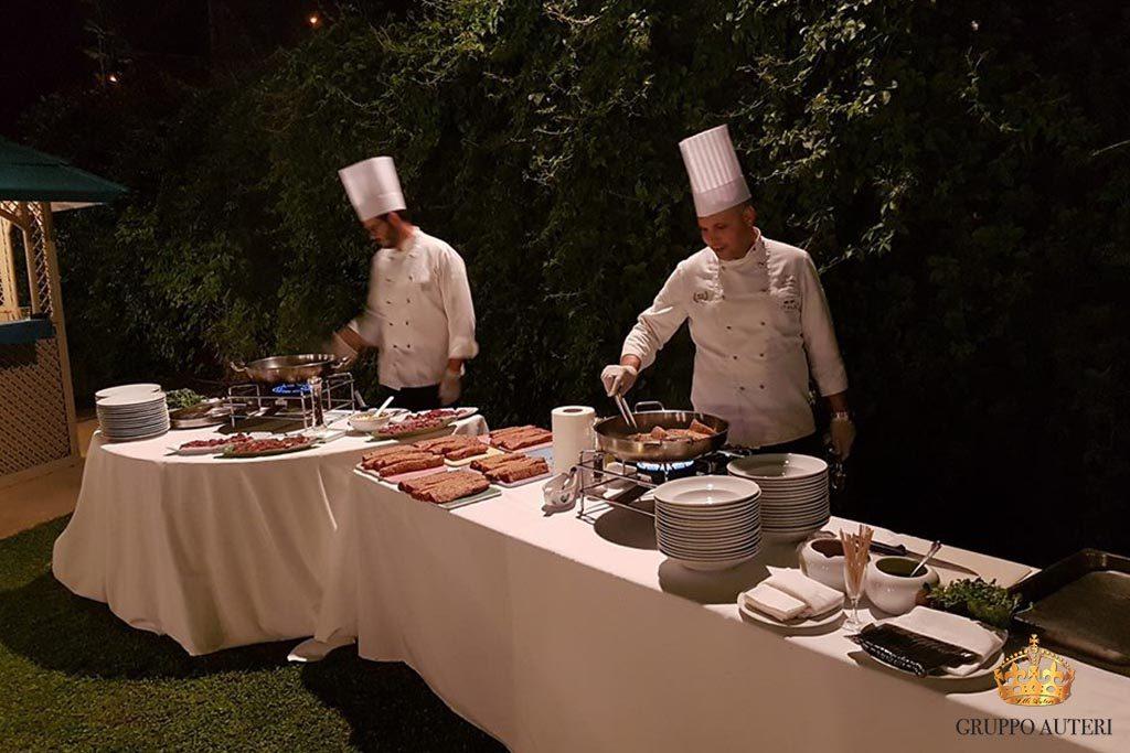 auteri show cooking forni