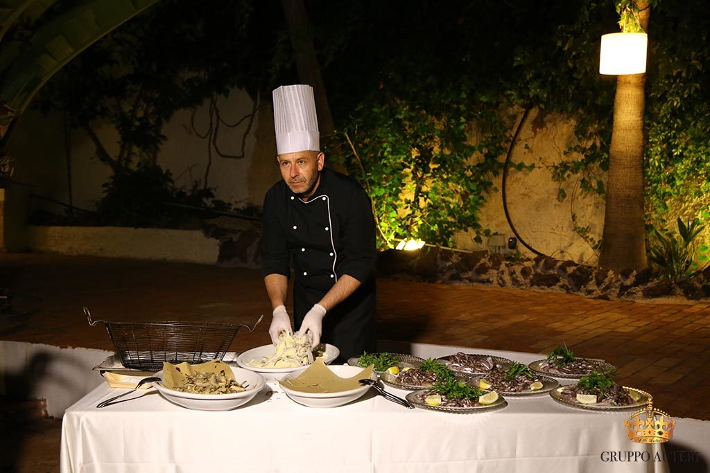 auteri show cooking frittura