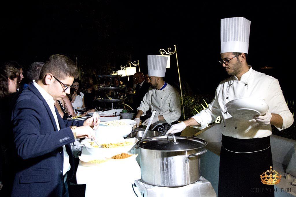 auteri show cooking pentole