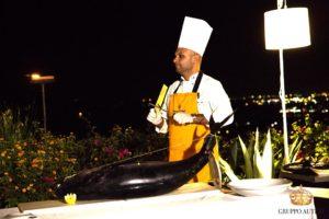 auteri show cooking pesce