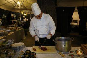 auteri show cooking polpo antipasti