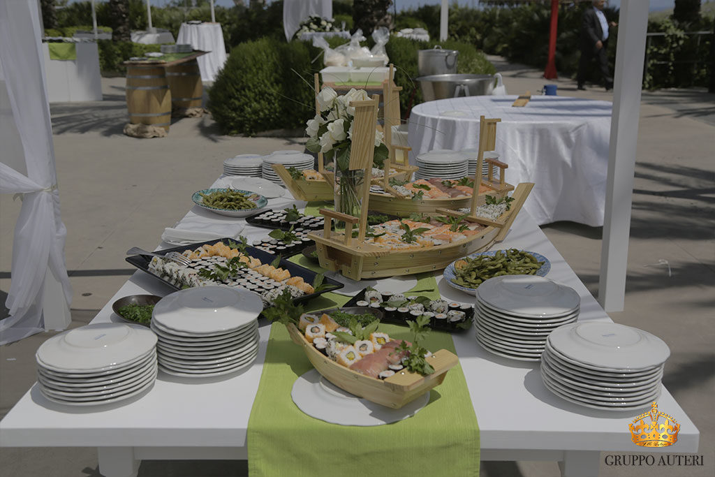 catering allestimenti barchette