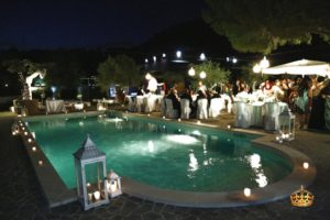 catering allestimenti piscina sera