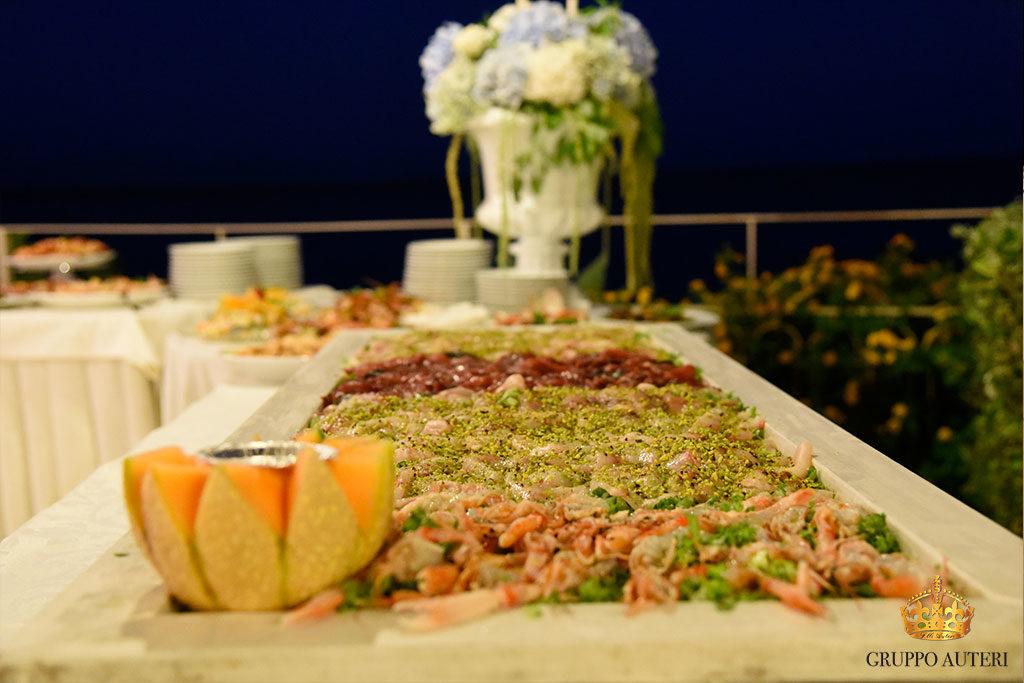 catering allestimenti tavoli pesce
