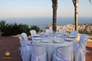 catering allestimenti tavolo mare