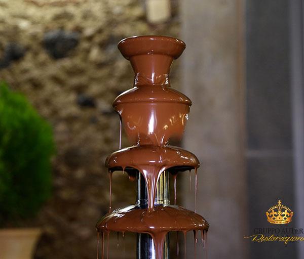 incarozza fontana cioccolato