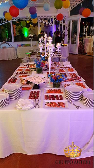 auteri caparena buffet candelabro