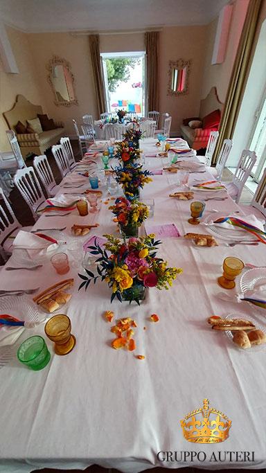 auteri caparena tavolo fiori