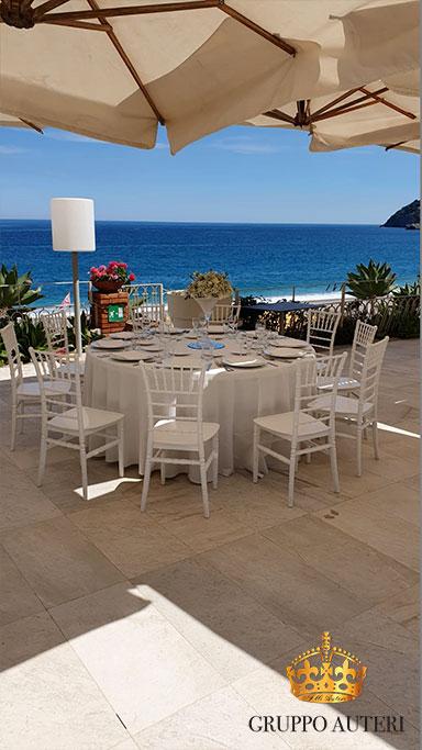 auteri caparena tavolo mare