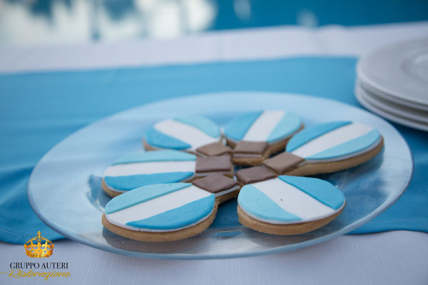 battesimo biscotti azzurri