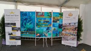 pesce azzurro banner mare