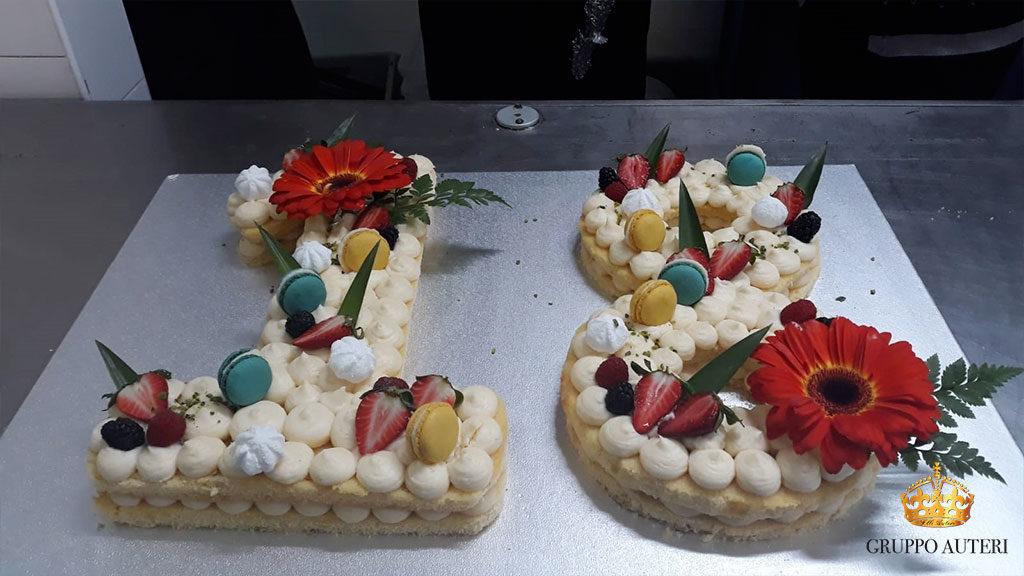 auteri torte 18anni fiori