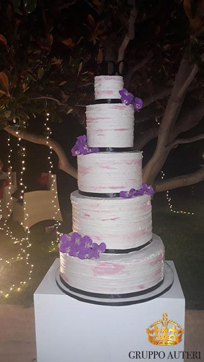 auteri torte fiori viola