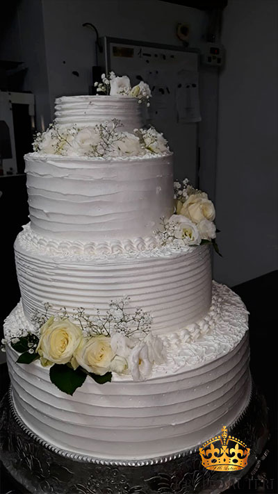 auteri torte rose bianche