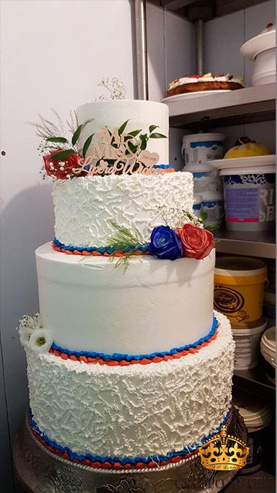 auteri torte rosso blu