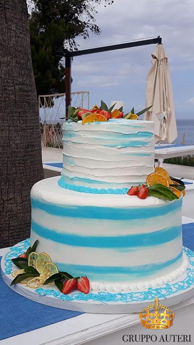 auteri torte strisce azzurre