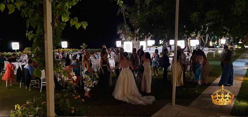 caparena invitati sposa