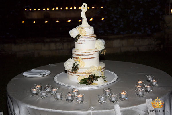 Castello Xirumi torta nunziale