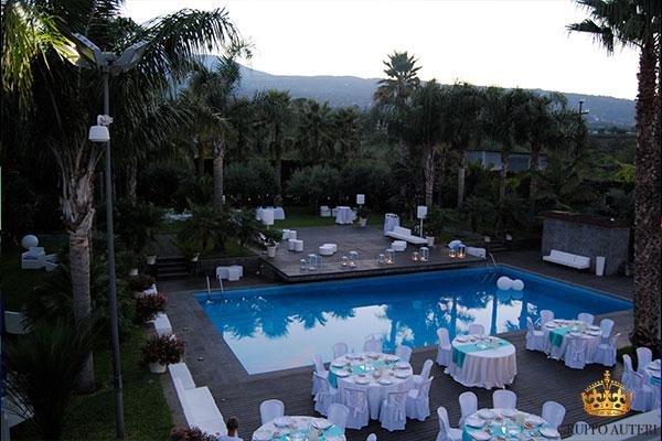 villa carlino piscina